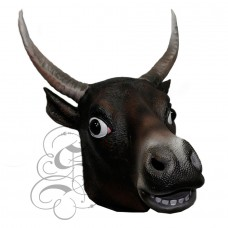 Latex Bull Cow Mask